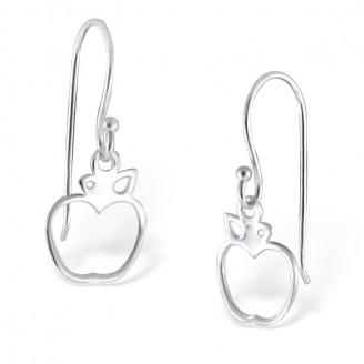 """Stříbrné náušnice visací """"Stříbrná jablka"""". Ag 925/1000"""